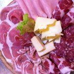 Molte specialità al ristorante la Faggeta- salumi e formaggi