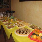 Buffet del ristorante La Faggeta