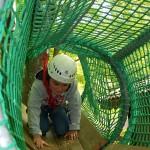 Avventura per Bambini nel tunnel di rete