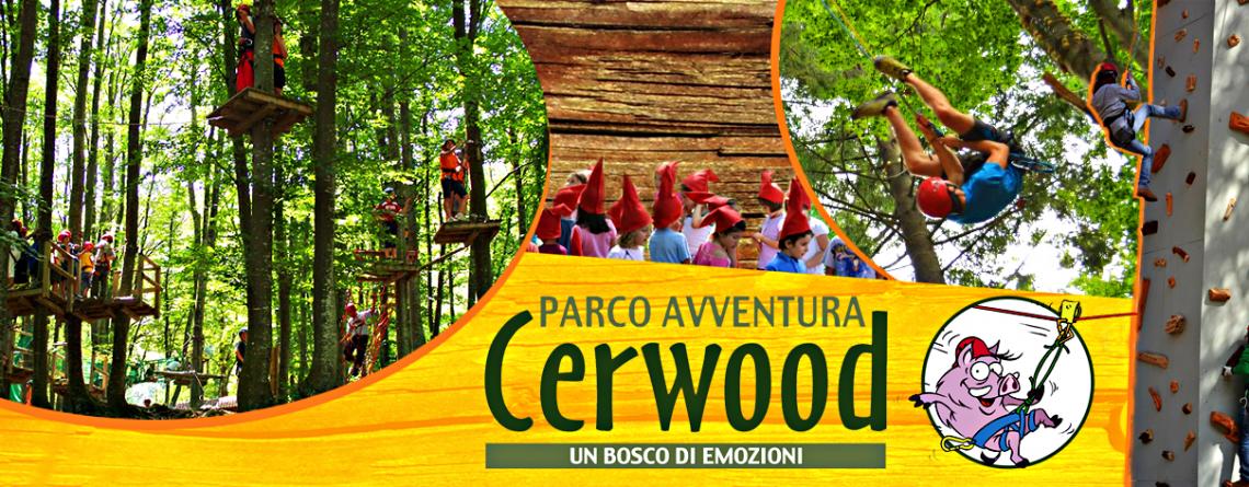 il parco avventura più grande di Italia