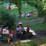 Area verde del parco